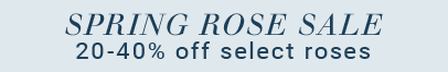 20-40% Off Select Roses