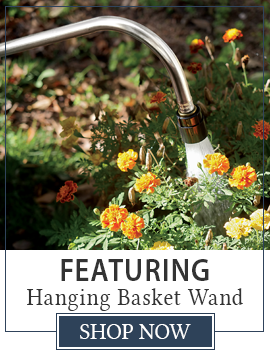 Featuring Hanging Basket Wand