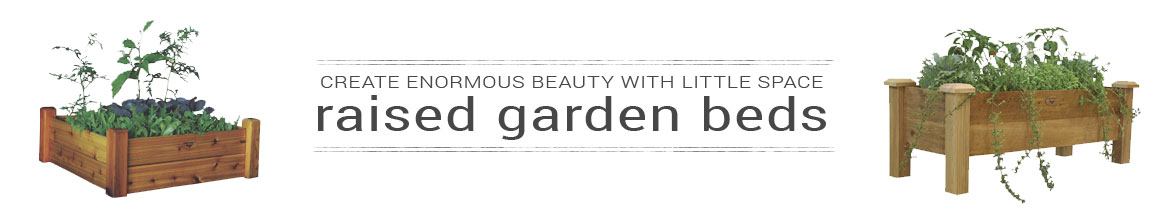 Create Enormous Beauty with Little Space Raised Garden Beds