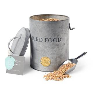Sophie Conran Galvanized Bird Food Tin