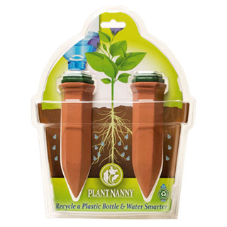 Recycle a Wine Bottle Watering Stake (pack of 2)Image