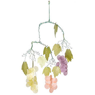 Grapes Capiz Wind Chimes