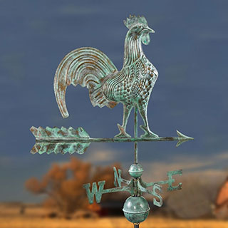 Rooster Weathervane-Standard