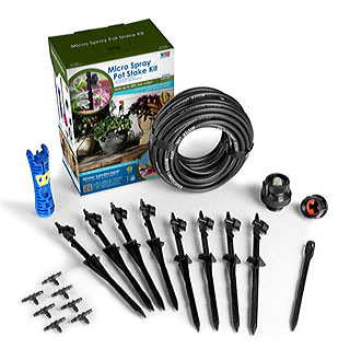 Micro-Spray Pot Stake Kit 8 Adjustable Stakes