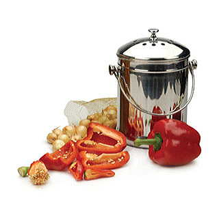 Stainless Steel Kitchen Composter