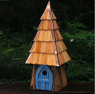 Lord of the Wing Bird House - Blue