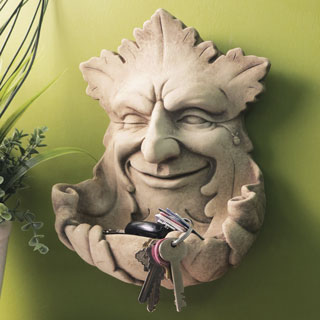 Garden Smile Birdfeeder Sculpture