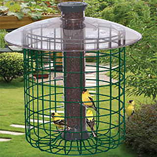 Droll Yankees® B7 Sunflower Domed Cage Shelter Feeder