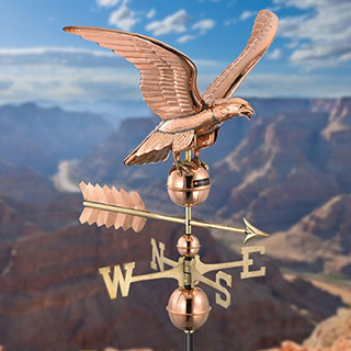 Smithsonian Eagle Weathervane-Standard