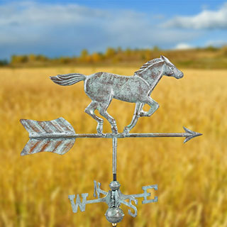 Horse & Arrow Garden Weathervane