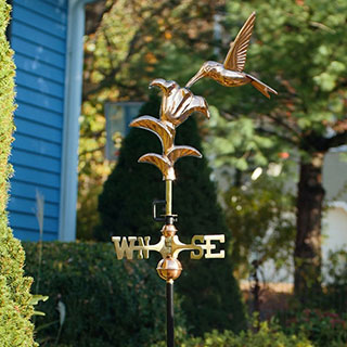 Hummingbird Garden Weathervane