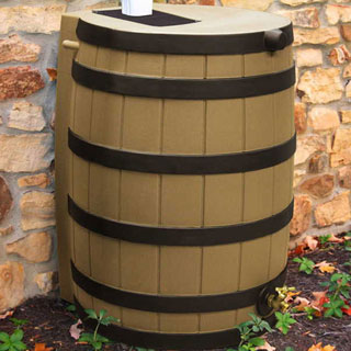 Rain Wizard Barrels and Stands