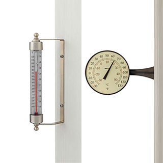 Conant Decor Large Dial Thermometer