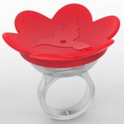 Hummer Ring - Red Thumb
