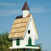 Quaint Country Church Bird House