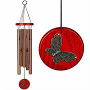 Habitats Chime--Butterfly, Bronze