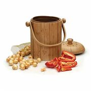 Bamboo Kitchen Composter