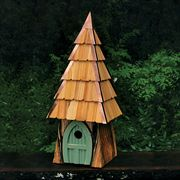 Lord of the Wing Bird House - Moss Green