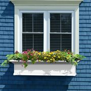 Yorkshire Window Box-White