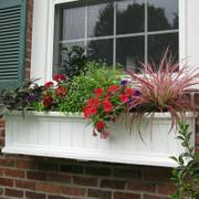 Cape Cod Window Box-White