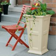 Fairfield Tall Patio Planter - <b><font color=bb0000>Free Shipping!</font></b>
