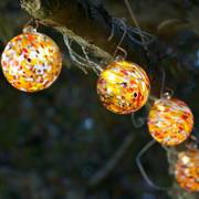 Solar Glass String Lights