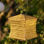 Silk Effects Square Solar Lanterns