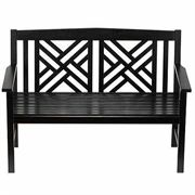 Fretwork Bench