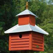 Rusty Rooster Birdhouse