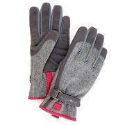 Gray Tweed Glove