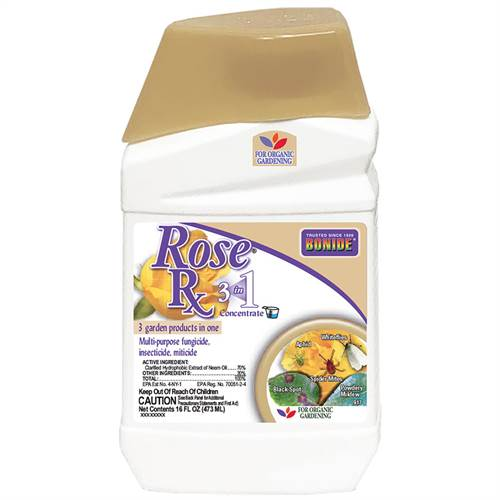 Bonide Rose Rx® 3-in-1 Concentrate