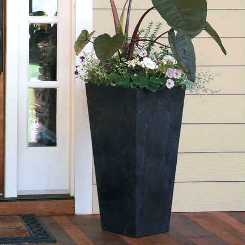 Ella Tall Square Pot