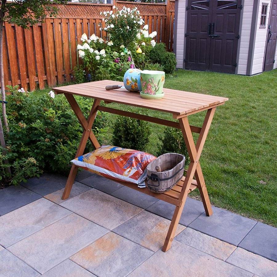 Console Table Potting Bench For Sale At Wayside Gardens
