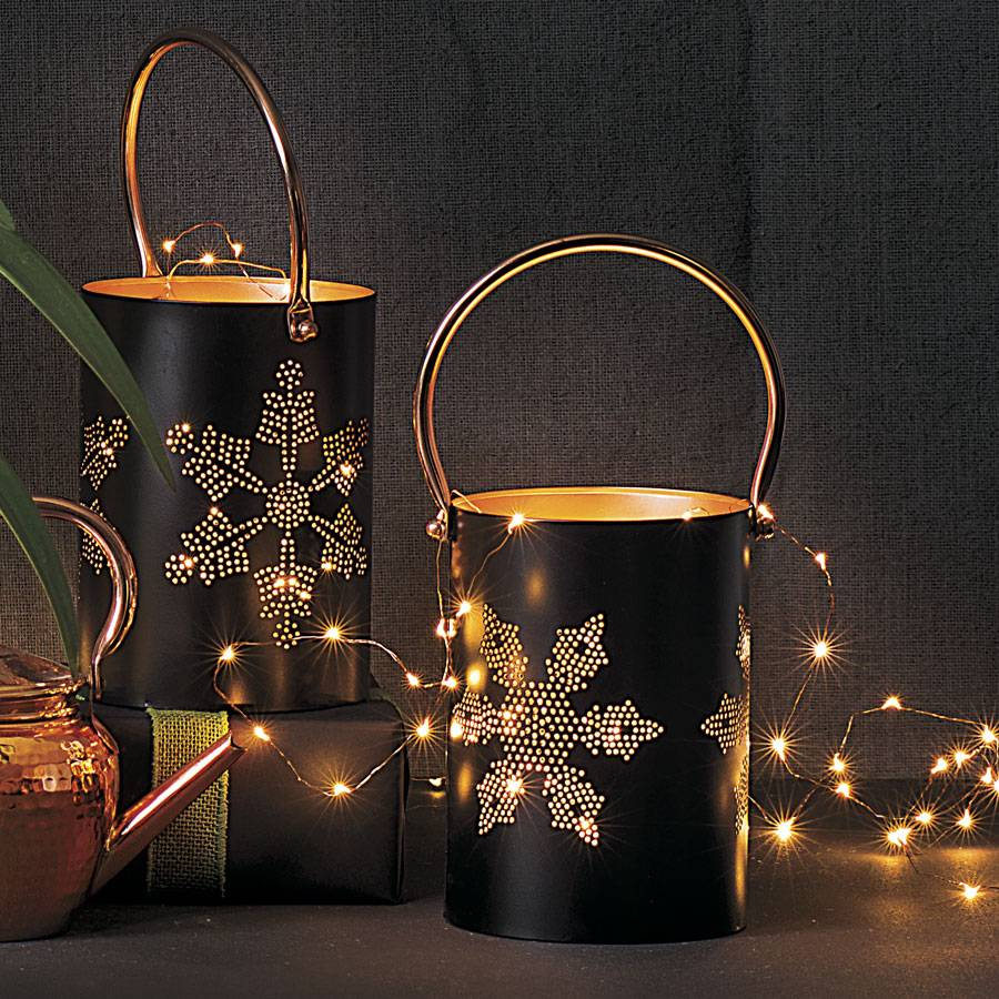 Pretty Indoor String Lights : Exclusive Indoor/Outdoor Copper String Lights Wayside Gardens