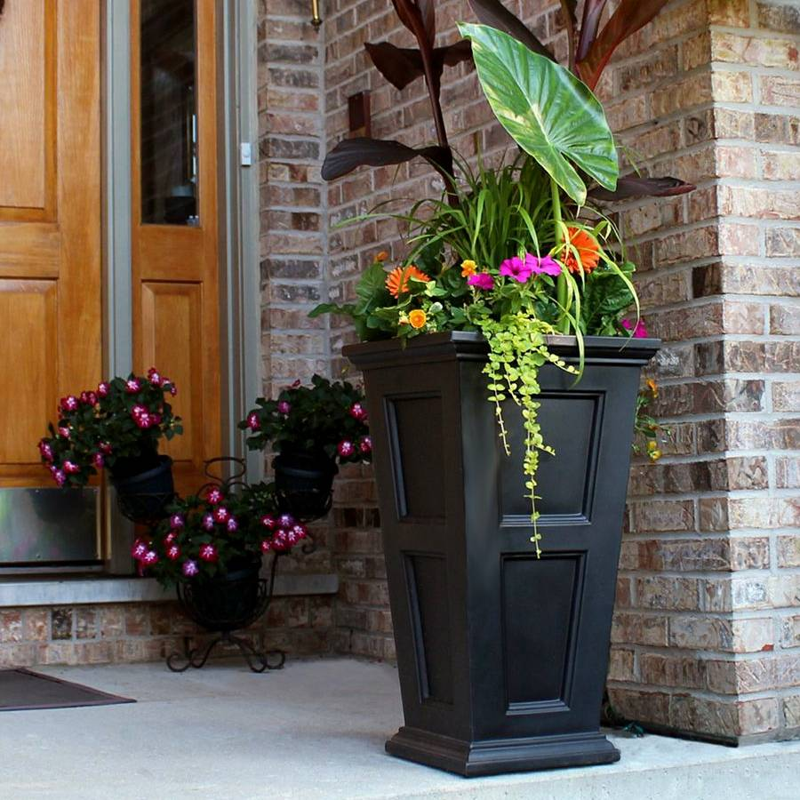 Fairfield Tall Patio Planter ...