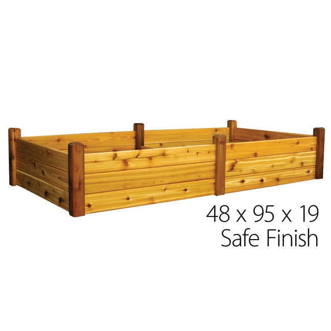 Food Safe Wood Finish For Raised Garden Bed